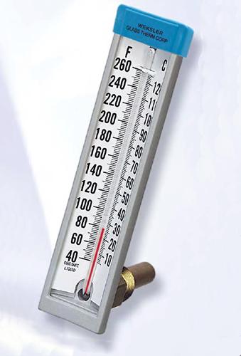 Weksler Glass 153fc Industrial Thermometer Kodiak Controls
