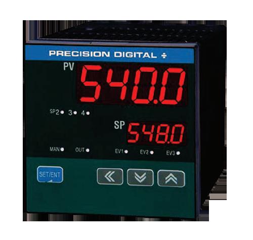 Precision Digital Panel Meters : Precision digital pd display kodiak controls